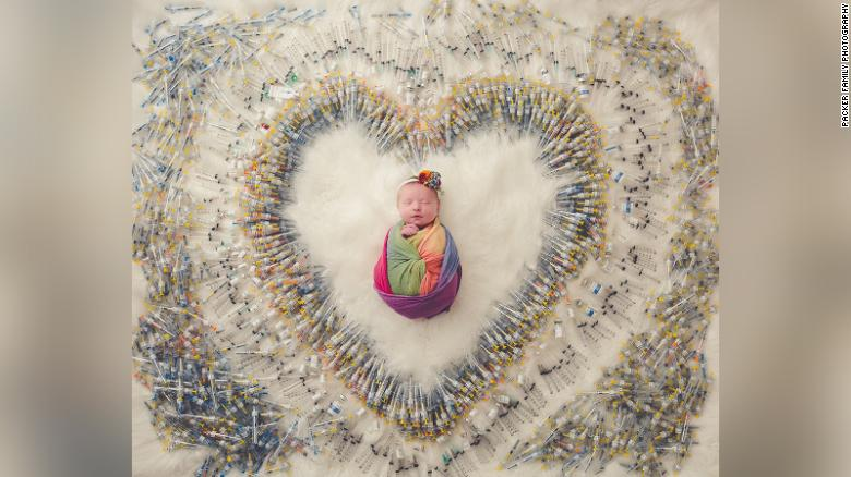 It took 4 years, 3 miscarriages and 1,616 shots to make this baby